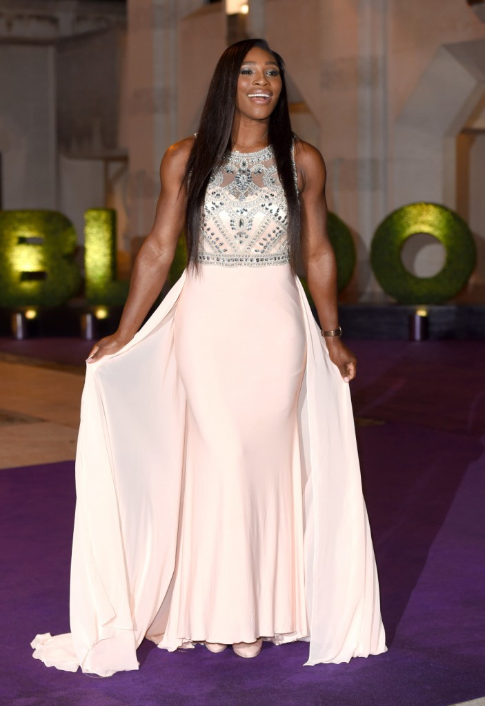 LONDON, ENGLAND - JULY 12:  Serena Williams attends the Wimbledon Champions Dinner at The Guildhall on July 12, 2015 in London, England.  (Photo by Karwai Tang/WireImage) ORG XMIT: 564363743 ORIG FILE ID: 480522704