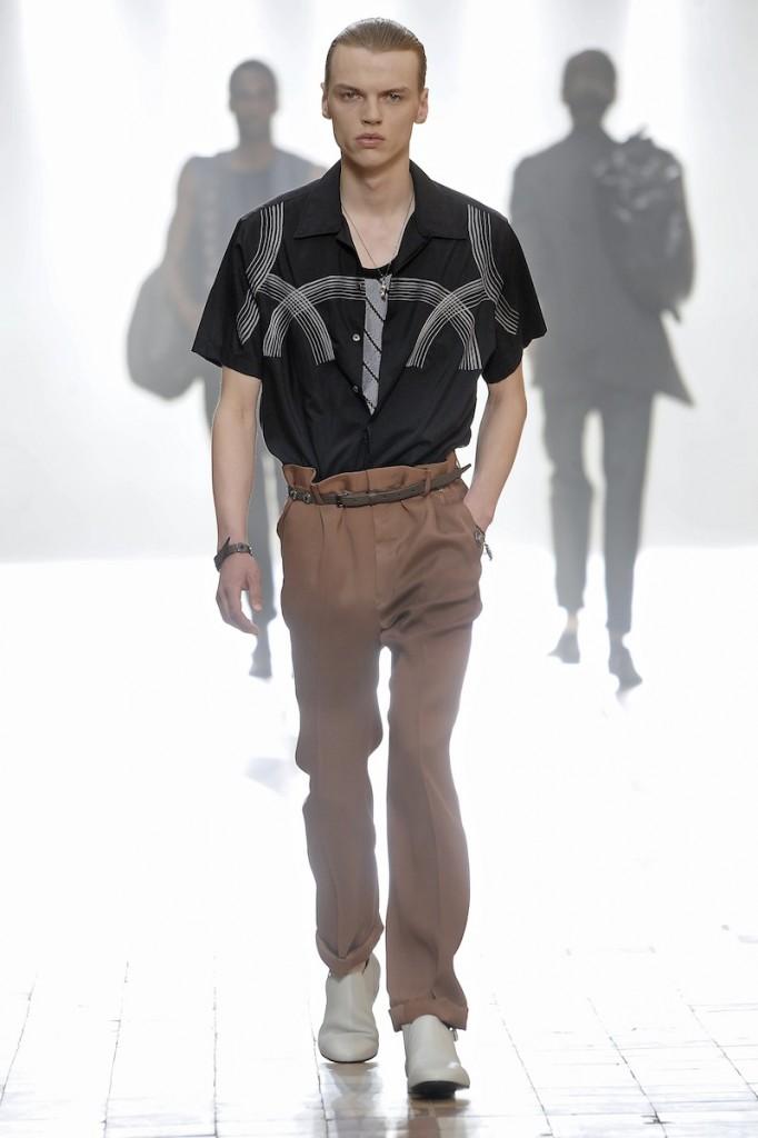 LANVIN Menswear spring summer 2016 Paris june 2015