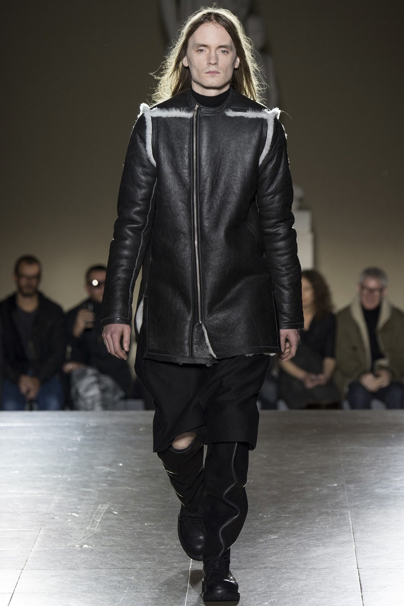 Rick Owens Fall Winter 2014 Paris Fashion Week The