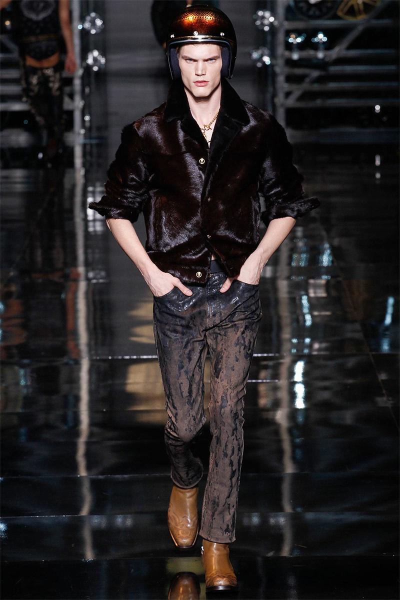 Versace Men 2015 Spring Summer: Versace Men Fall/Winter 2014