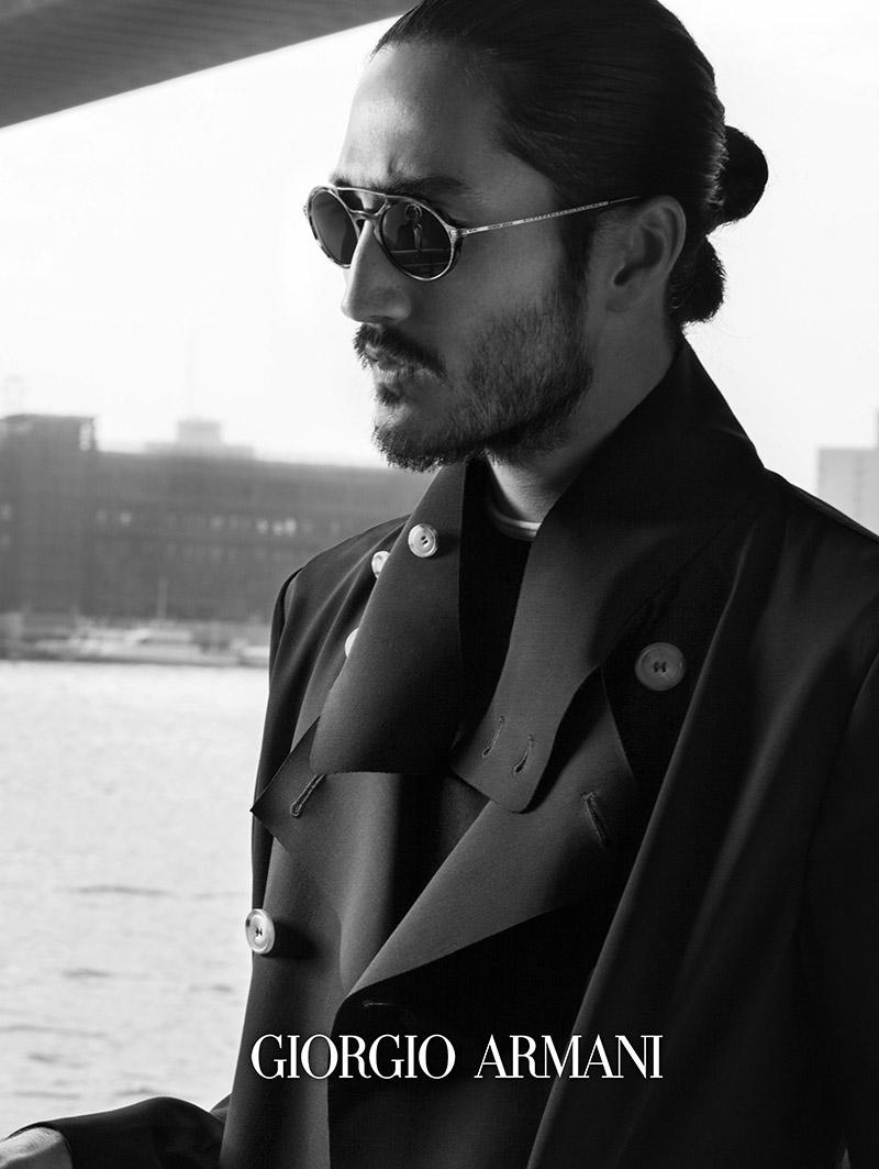 875d57b1a5e Giorgio Armani Eyewear Frames Of Life Spring Summer 2017 Campaign