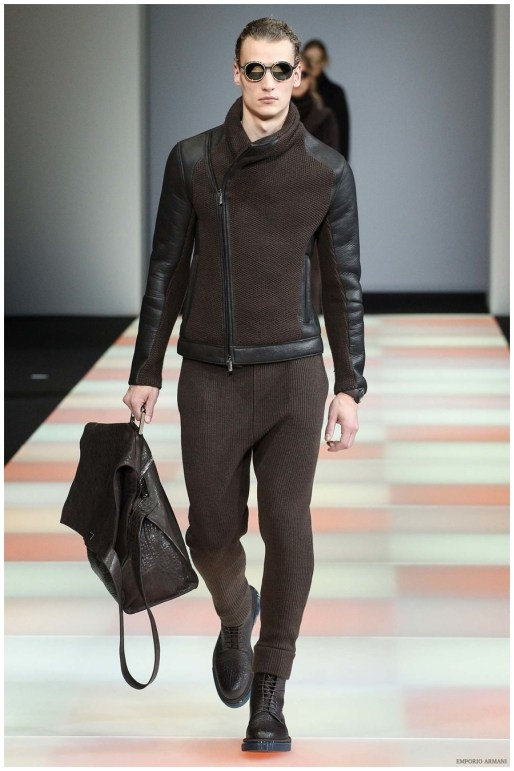 7d5be29b1cc0 Emporio Armani Fall Winter 2015 Menswear Collection  The Young ...