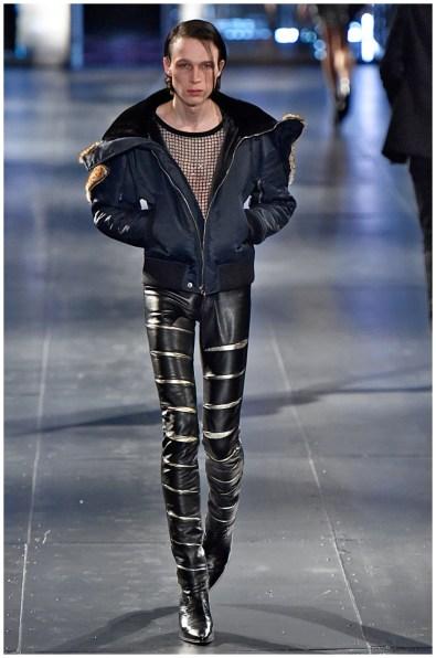 Saint Laurent Fall/Winter 2015 Menswear Collection