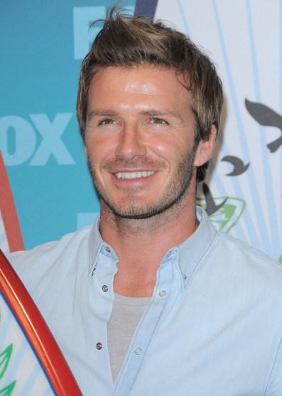 David Beckham Hairstyle Evolution Pictures - David beckham armani hairstyle