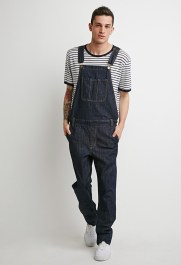 Forever 21 Men's Denim Overalls