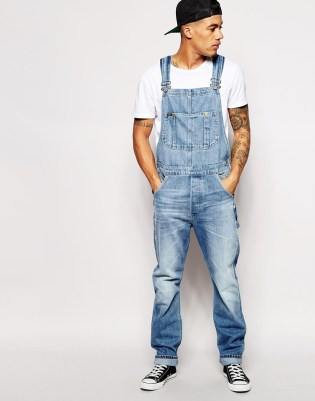Lee Men's Overall Jeans