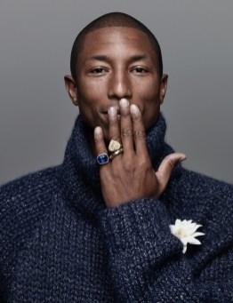Pharrell Williams for Harper's Bazaar Man Korea September 2015 Issue