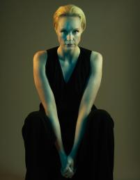 Gwendoline Christie photographed for TIME magazine.