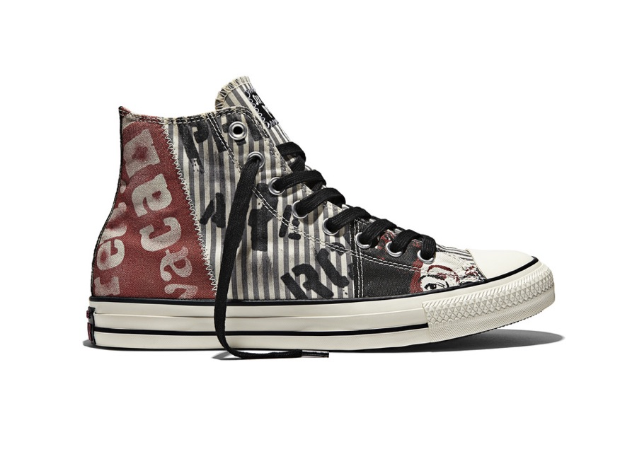 f4fc77889b57 Converse Chuck Taylor All Star Sex Pistols - Multi High Top detail.  Converse Chuck Taylor All Star Sex Pistols - Multi High Top Back detail