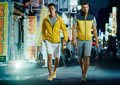 Models Philip Huang and Edward Wilding for BOSS Green Spring/Summer 2016 Campaign