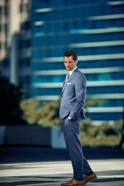 David Gandy is Casually Cool for Marks & Spencer Campaign