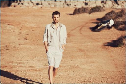 fcbbcdd25da Mango Man Embraces Earth Tones for a Summer Style Adventure