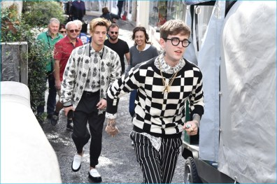 Behind the Scenes: Cameron Dallas and Gabriel-Kane Day-Lewis for Dolce & Gabbana Spring/Summer 2017 Campaign