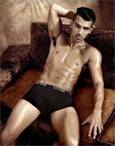 Joe Jonas Shirtless GUESS Spring/Summer 2017 Underwear Campaign