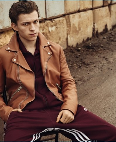 30596933a3233 King of Swing  Tom Holland Relaxes Poolside with British GQ