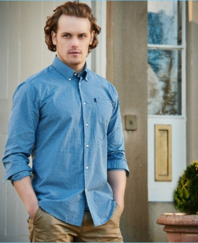 Sam Heughan Tapped as Barbour Global Brand Ambassador | The