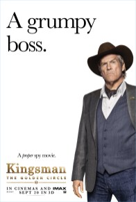 Kingsman The Golden Circle Poster Jeff Bridges Agent Champagne Style