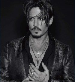 Johnny Depp Covers Numero Homme Doesnt Like Watching Own Movies