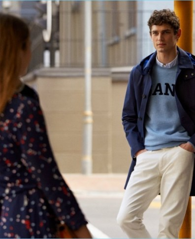 330ef7f232 Arthur Gosse Embraces Collegiate Style for Gant Fall '18 Campaign