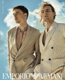 fondo de pantalla Inmundo propietario  Week in Review: Orlebar Brown, Emporio Armani, Jordan Barrett + More   The  Fashionisto