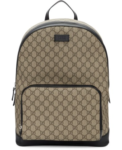 1fdc273f367b9f Men's Gucci Eden Canvas Backpack – Brown | The Fashionisto