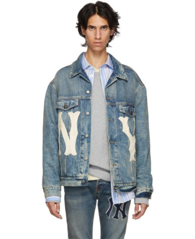 00b4e6f5d Gucci Blue Paramount Pictures® Edition Denim Jacket | The Fashionisto