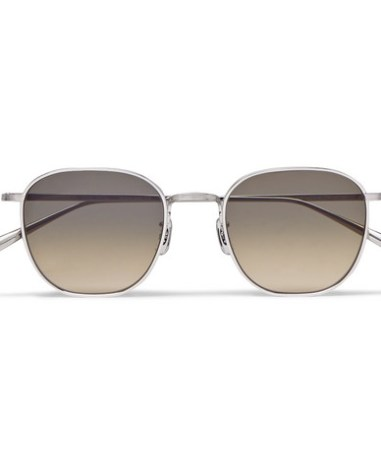 a5ece2af9c480 The Row - Oliver Peoples Board Meeting 2 Silver-Tone Titanium Polarised  Sunglasses - Men