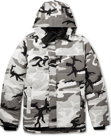 90f5ea1a227a8 Canada Goose - Macmillan Camouflage-Print Quilted Shell Down Jacket - Men -  Dark gray