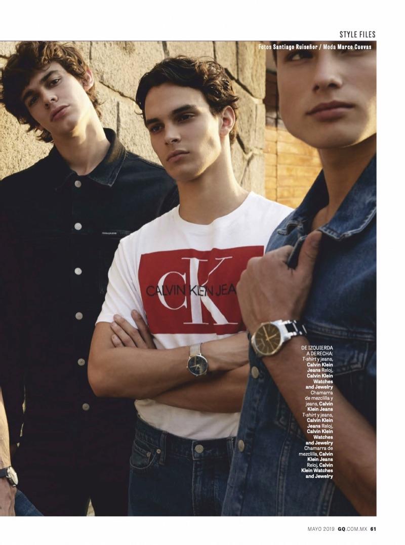 34004d52246b Boys Club  GQ México Takes on Calvin Klein Jeans