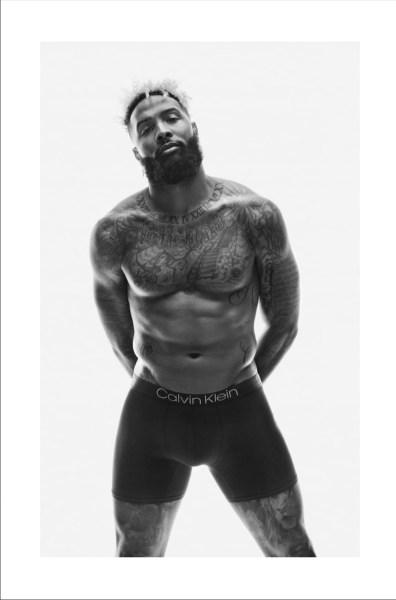 2019 Odell Beckham Jr. Calvin Klein Underwear Campaign