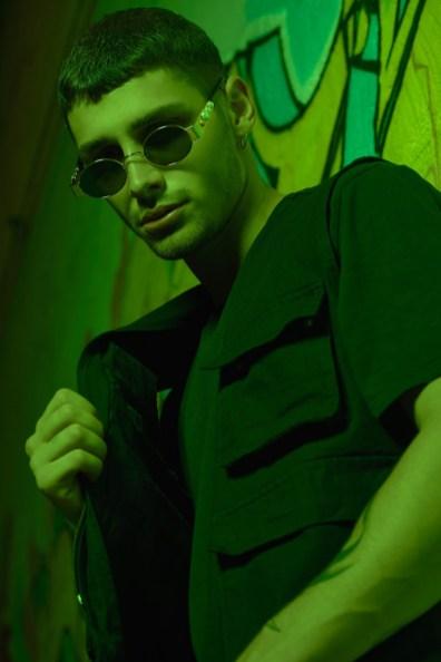 Nicolò wears t-shirt NIKE and jacket ASOS.