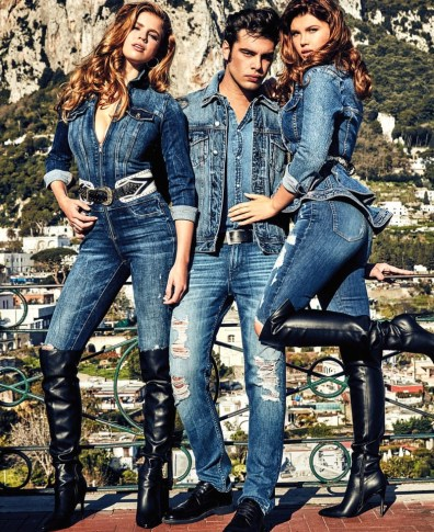 best service f221d ac5ca GUESS Jeans Spring/Summer 2017 Campaign | The Fashionisto