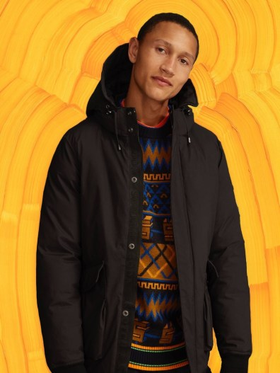 The windbreaker is front and center as part of Scotch & Soda's fall-winter 2019 outerwear.