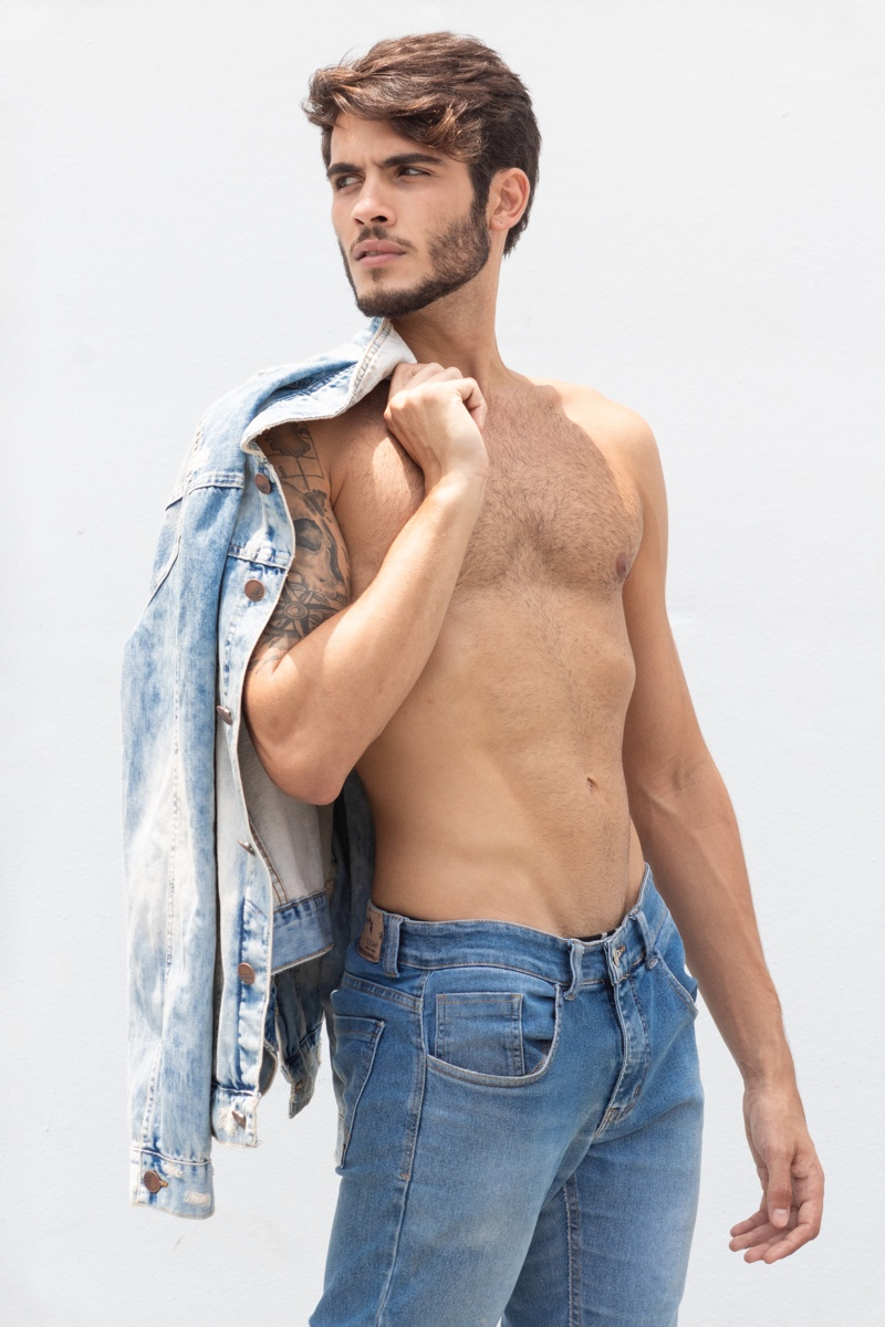 Gustavo Doubles Down On Denim For A Stylish Update The