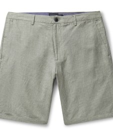 Club Monaco Maddox Cotton Seersucker Shorts Men Black The