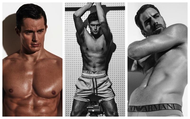 Pietro, Sean + More Rock Emporio Armani Underwear for V/VMAN 2021 Calendar