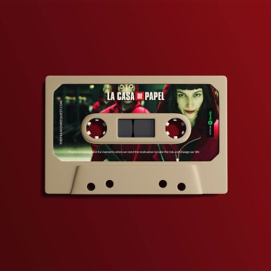 La Casa de Papel Spotify Inspired Playlist