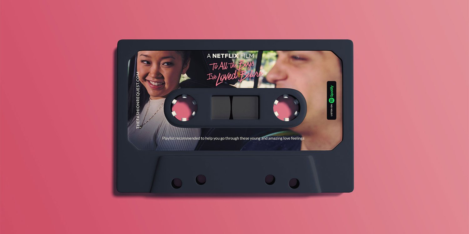 Spotify To All Boys I've Loved Before Inspired Playlist