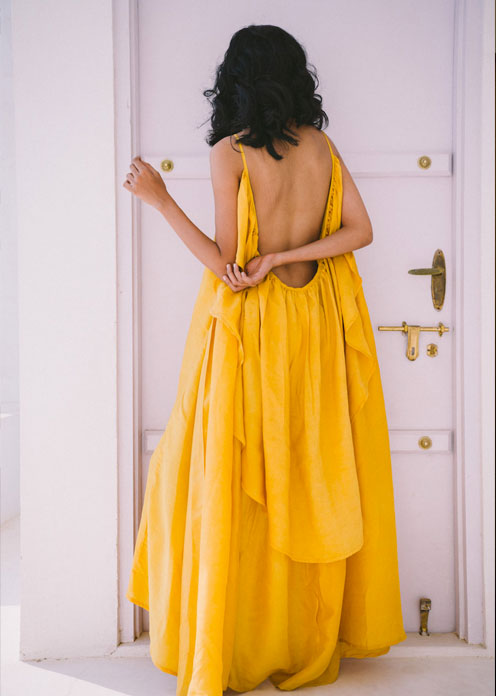 Sustainable Fashion Wedding Guest Dresses Perfect Nomad Backless Dress