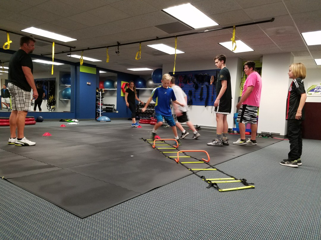 Speed & Agility at Fast Lab Gym