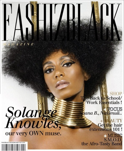 Solange Knowles for Fashizblack magazine