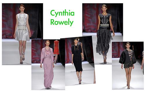 Cynthia Rowely Spring 2011