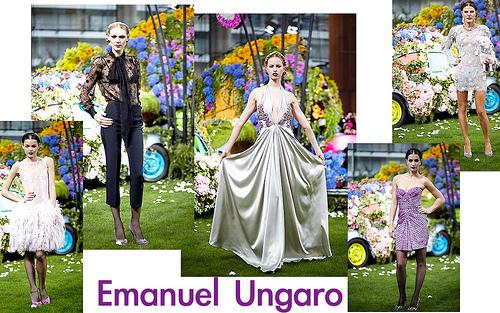 Emanuel Ungaro by Giles Deacon