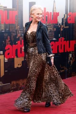 Helen Mirren at Arthur Premier