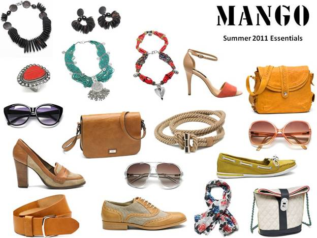 Mango Summer 2011 Essentials