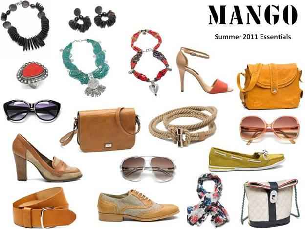 Mango Summer 2011 Essentials