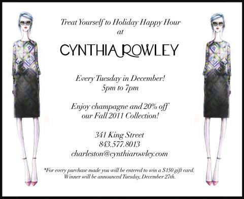 Happy Hour at Cynthia Rowley