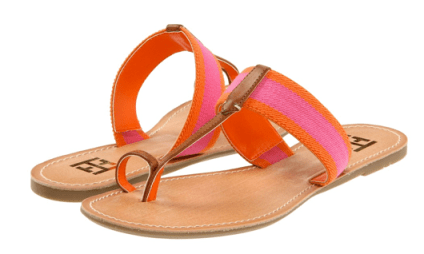 Tommy Hilfiger - Lilly (Orange/Pink) - Footwear