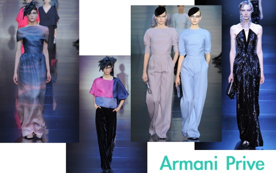 Armani Prive Couture F/W12