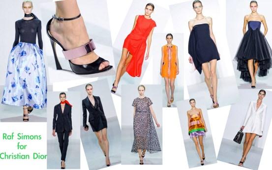 Raf Simons for Christian Dior SS 13
